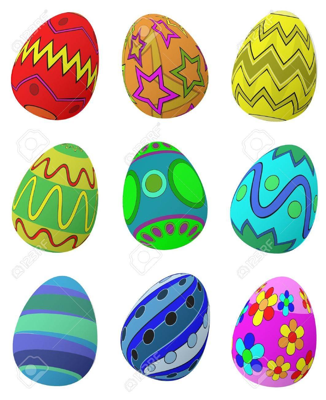 Easter Eggs Stock Vector - 12471505