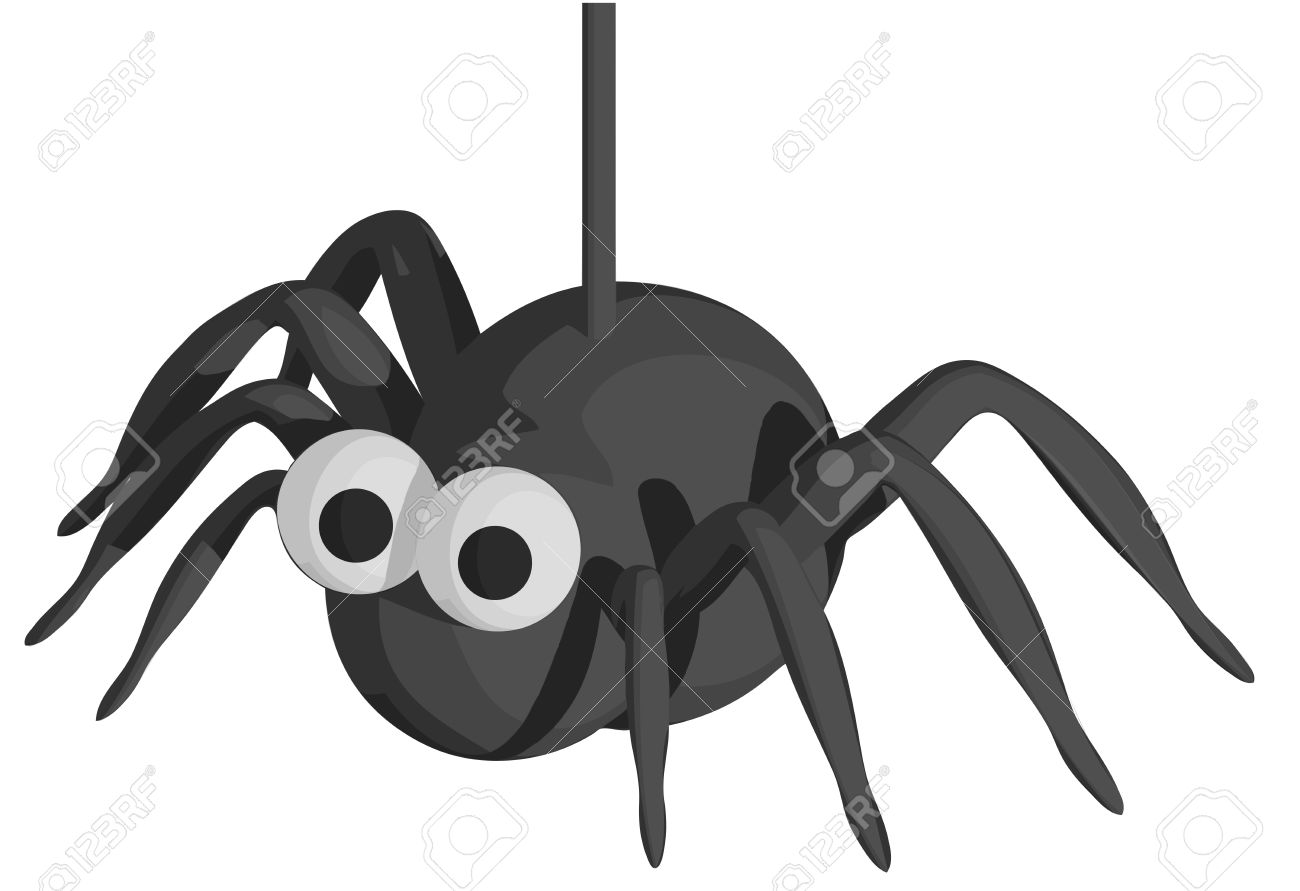 Halloween Spider Royalty Free Cliparts, Vectors, And Stock ...