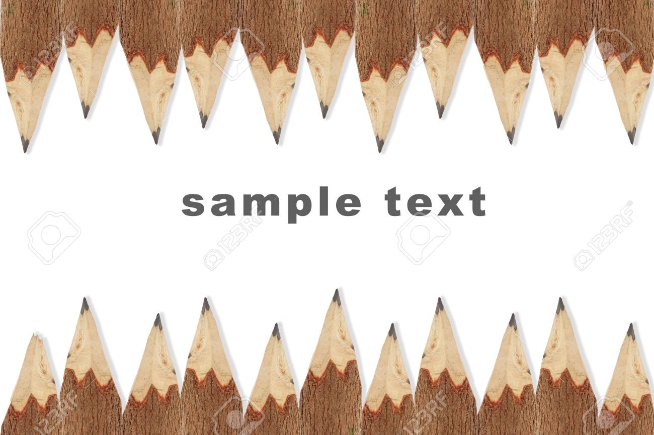 wooden pencil isolated on white background Stock Photo - 10739126
