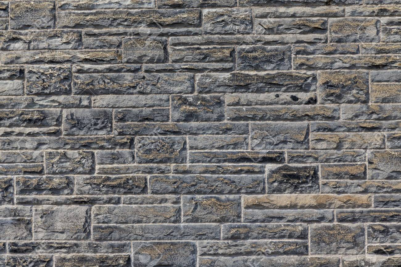 The New Design Of Modern Rock Wall Stock Photo Picture And