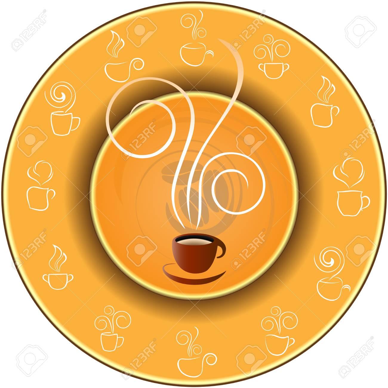 coffee background Stock Vector - 4399785