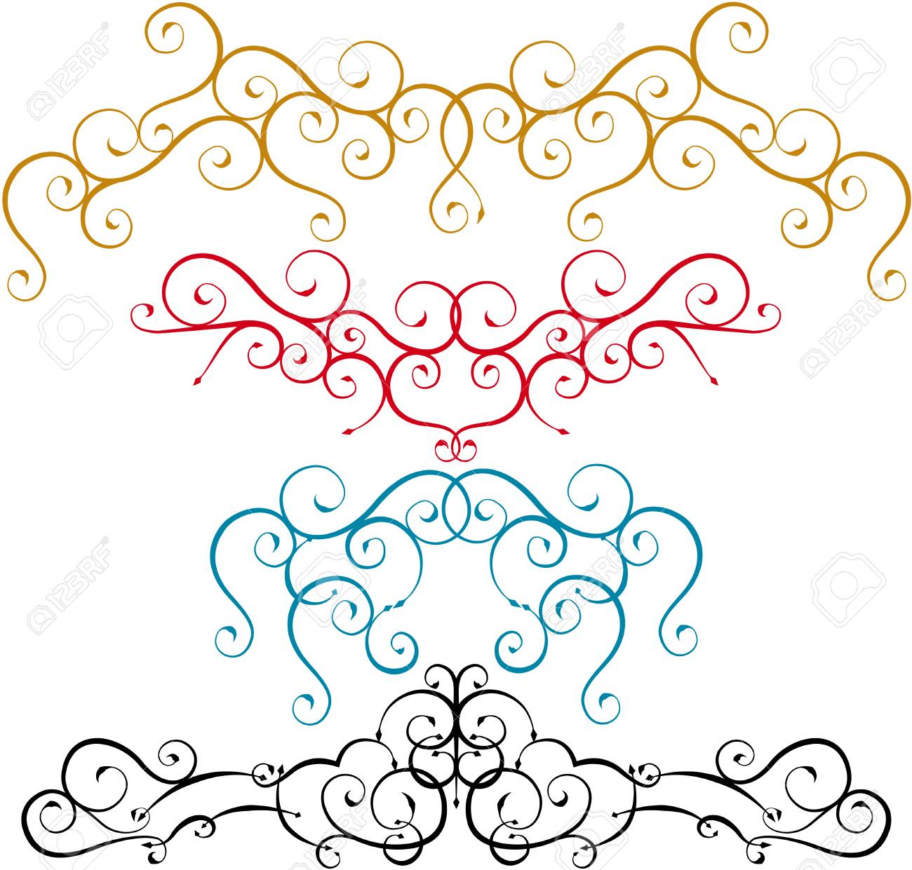 curves in combination Stock Vector - 5686314
