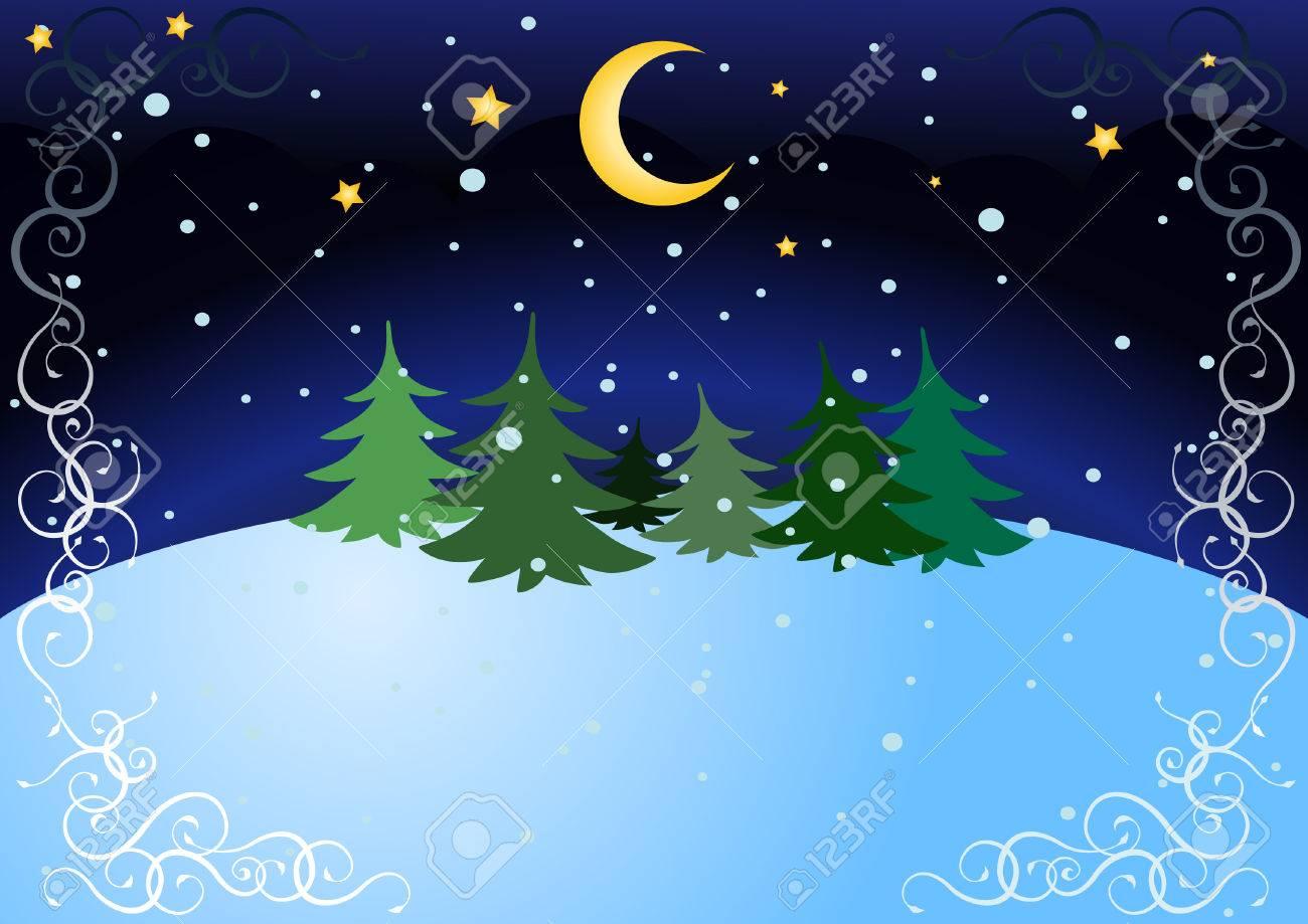 winter night - 5743819