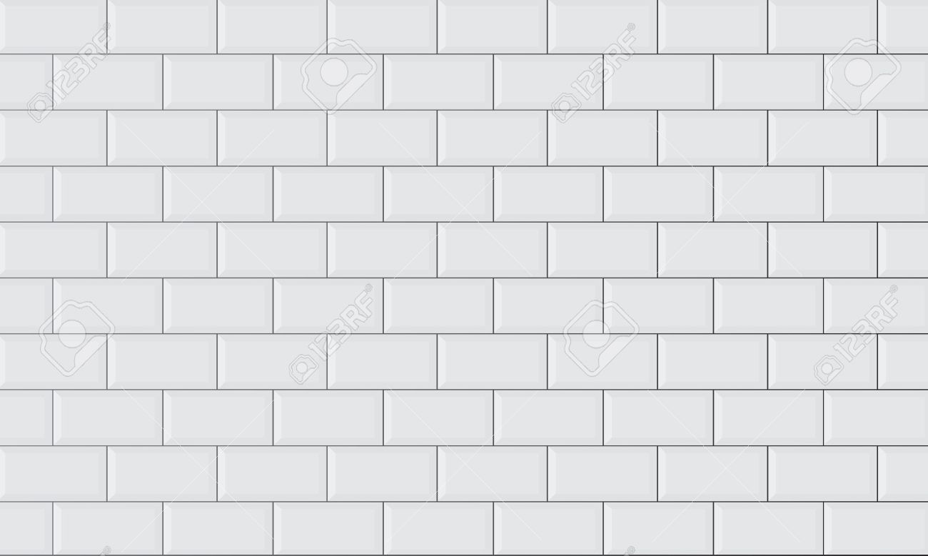Ceramic Brick Tile Wall Royalty Free Cliparts, Vectors, And Stock ...