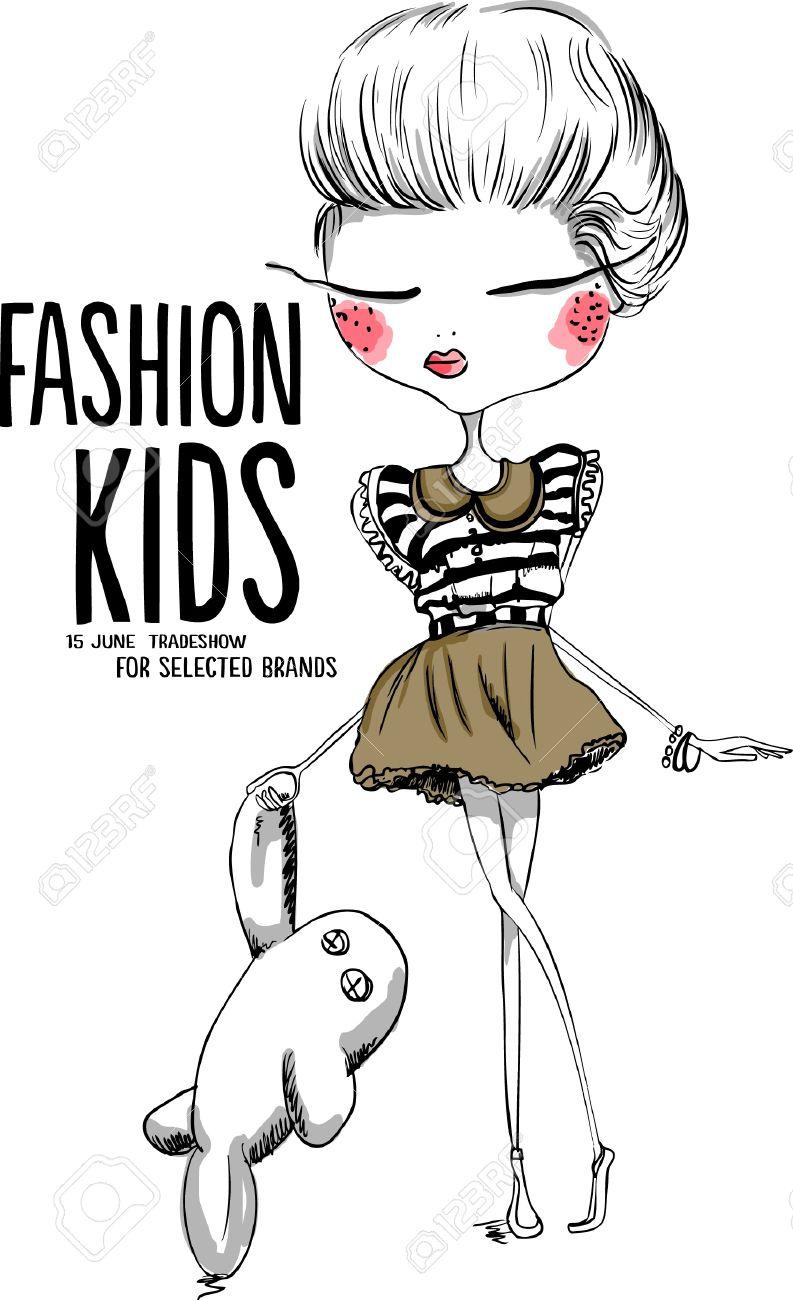 Fashion illustration for kids 1