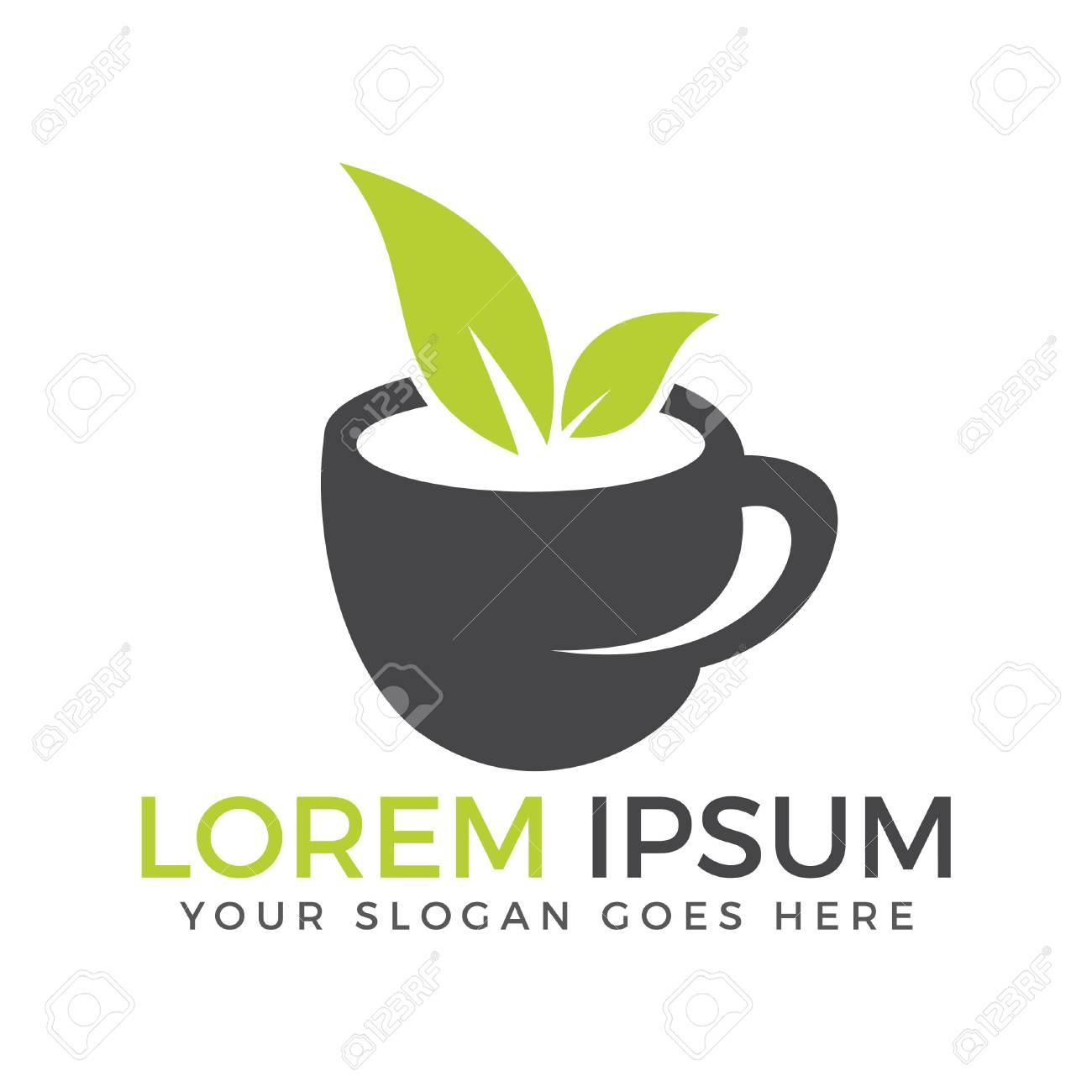 Green Tea Logo Company Green Tea Shop Logo Design Royalty Free Cliparts Vectors And Stock Illustration Image 93209294