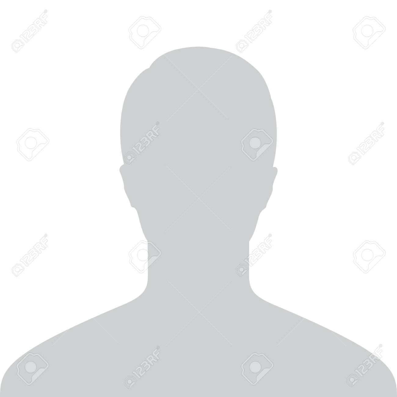 Male Default Placeholder Avatar Profile Gray Picture Isolated on White Background For Your Design. Vector illustration - 68824651