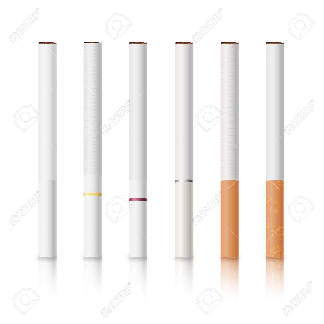 Filter zigaretten weißer Zigaretten mit