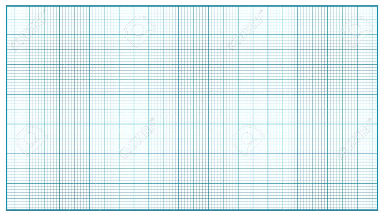 millimeter paper vector blue graphing paper for education