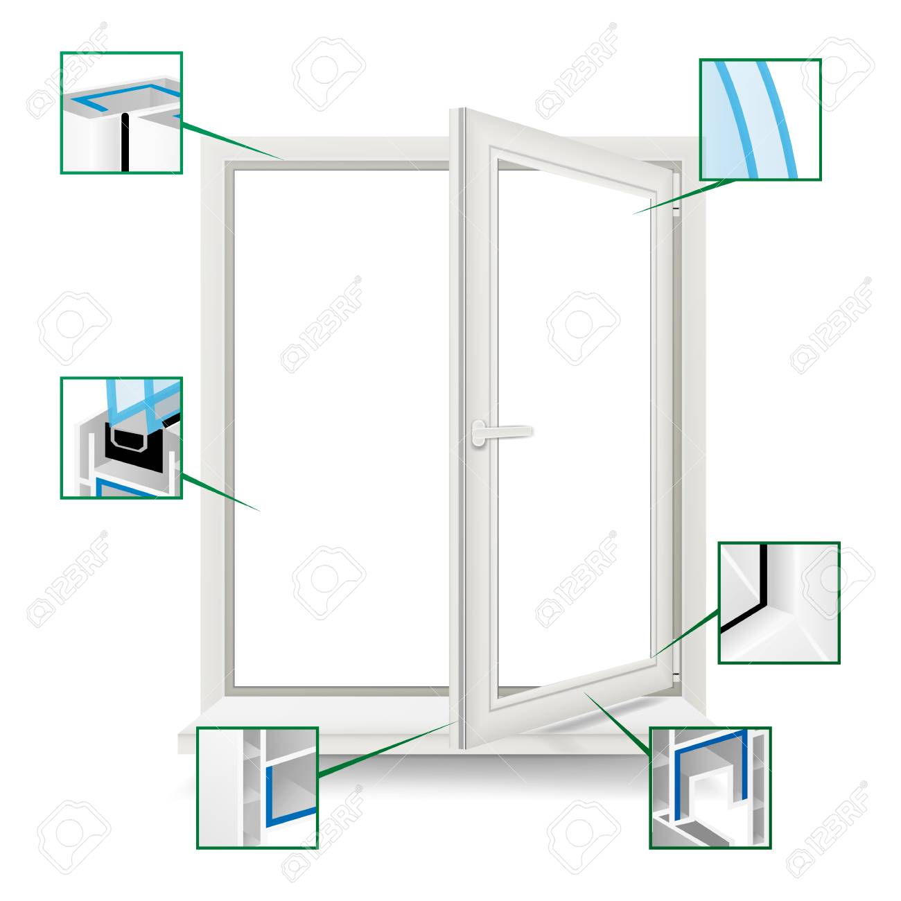 Plastic Window Frame Diagram - DIY Enthusiasts Wiring Diagrams •