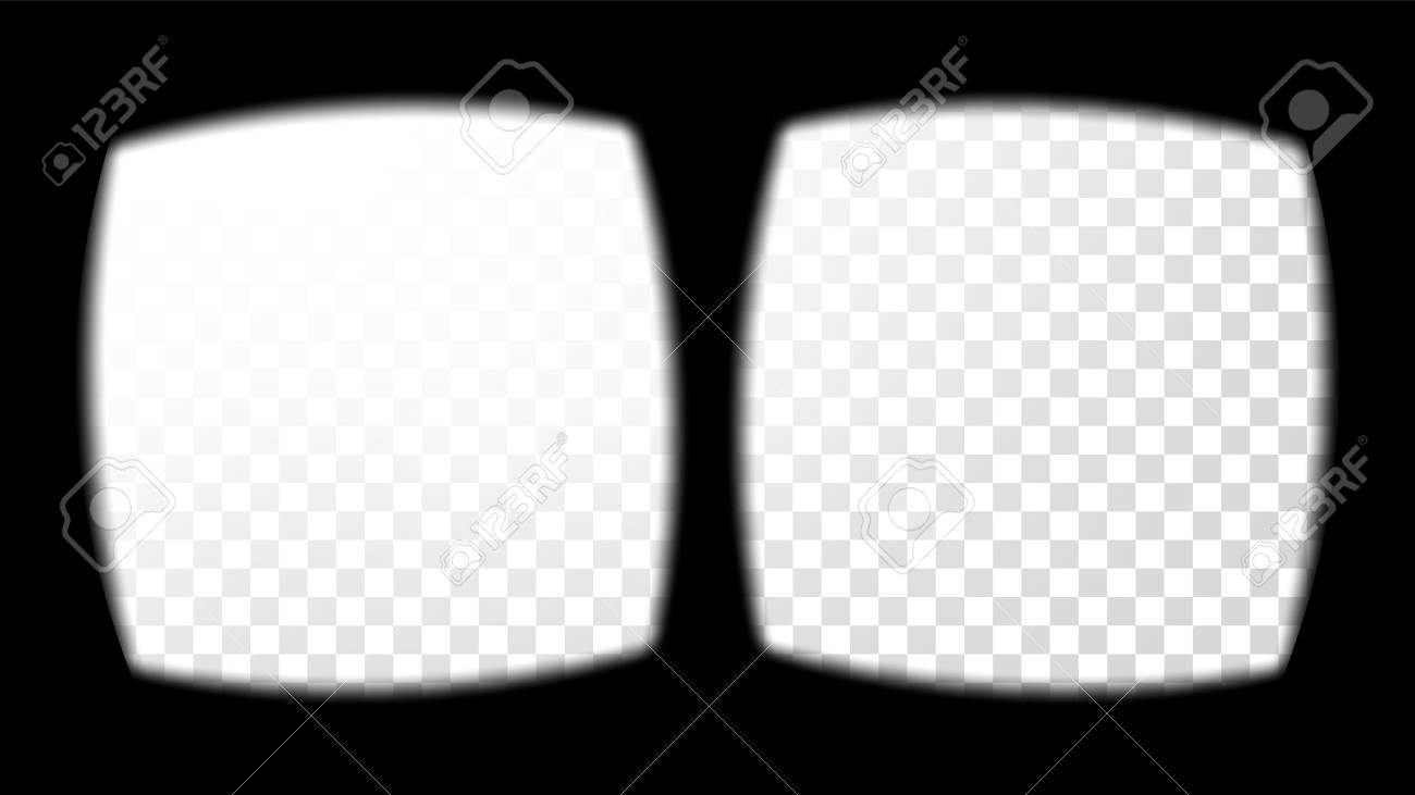 8060e70839 Vector - Virtual Reality Glasses Sight View Vector. Overlay Isolated On  Transparent Background. Screen Frame Blank. Design 3D VR Technology Graphic  Design ...