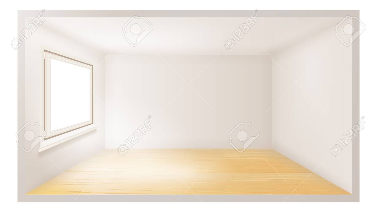 . Empty Room Vector  Empty Wall  Sunlight Falling Down  Architecture