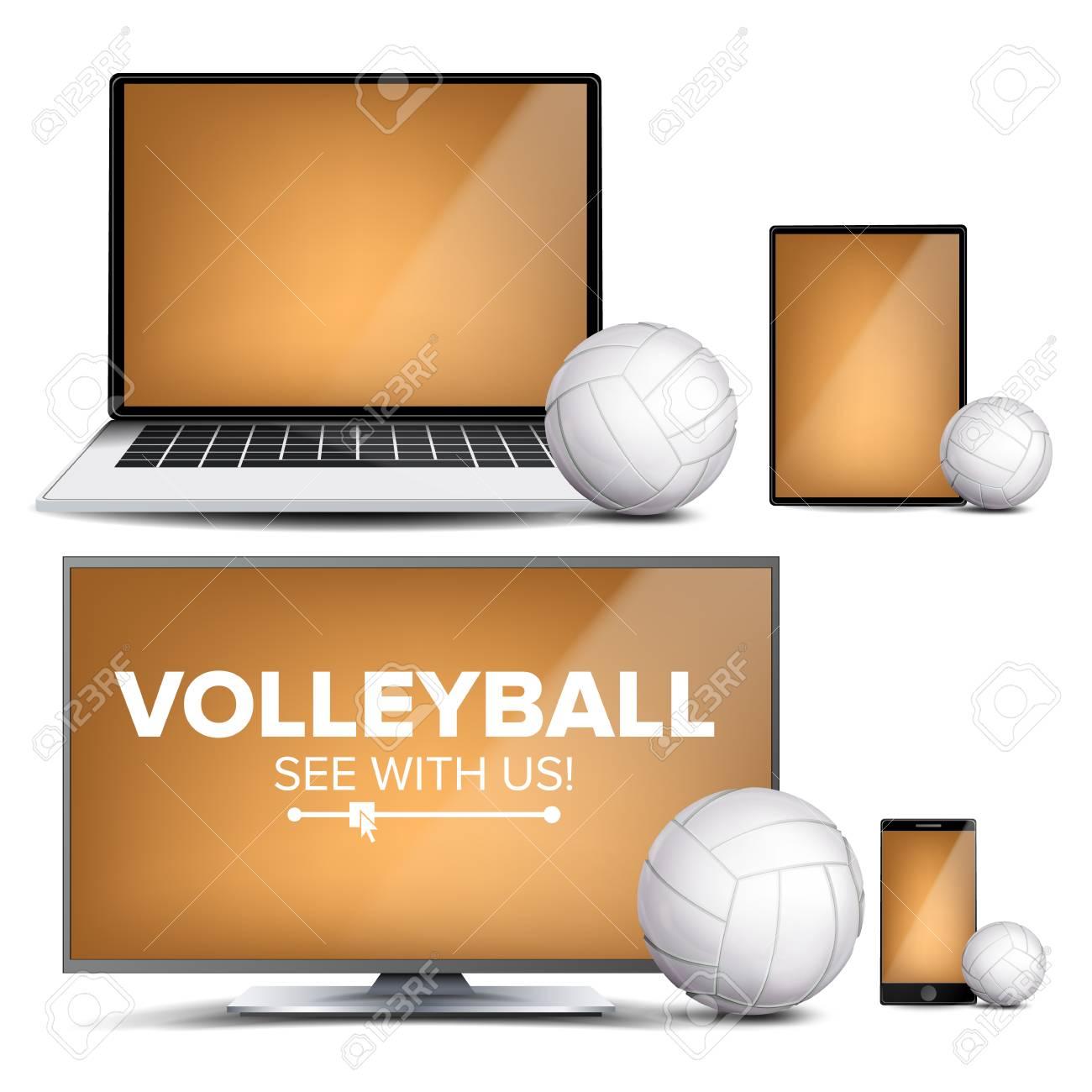 Volleyball Application Vector  Field, Volleyball Ball  Online