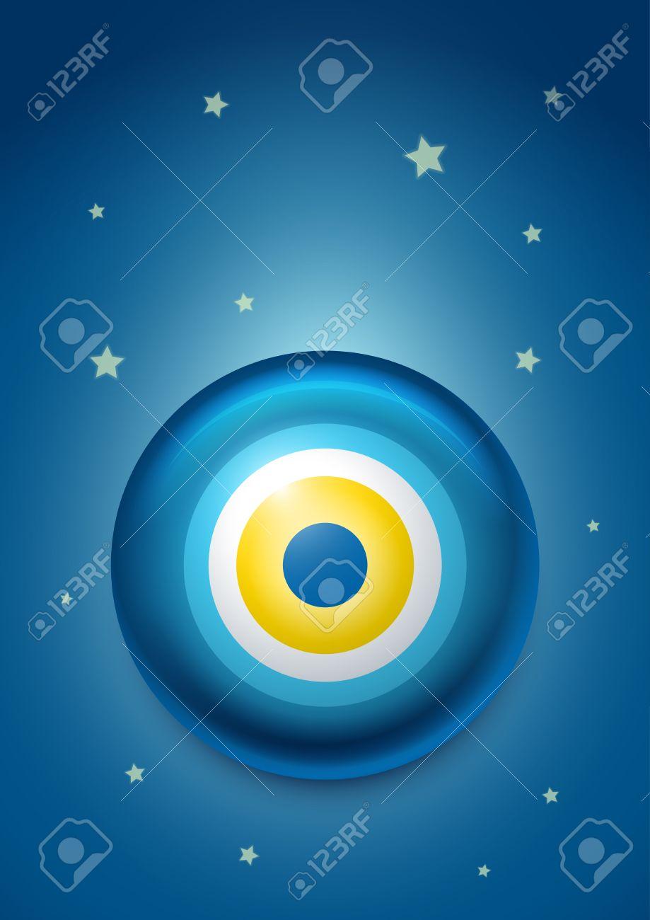 illustration of evil eye - 24641231