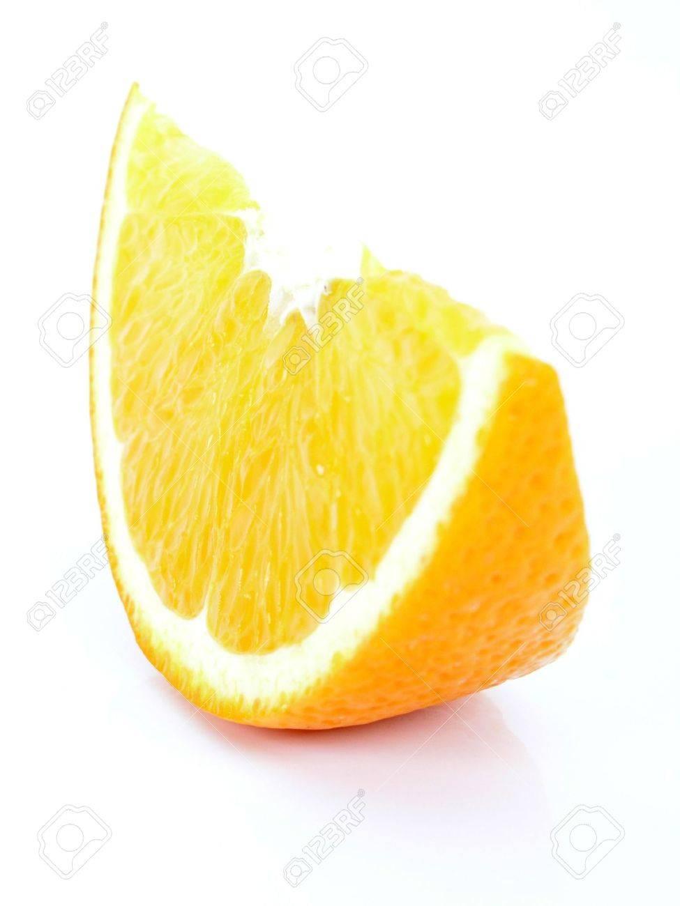 Orange piece Stock Photo - 484839