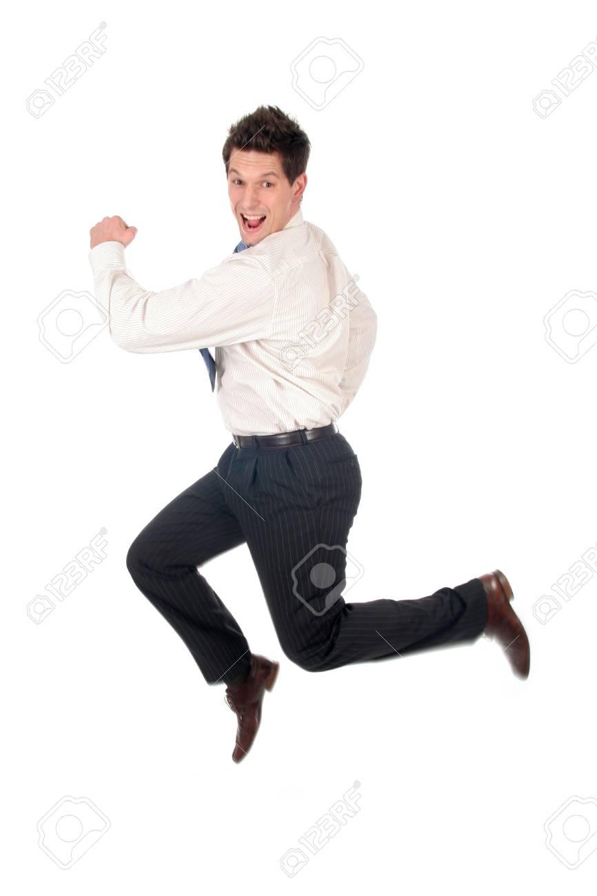 Businessman Running Stock Photo - 667674
