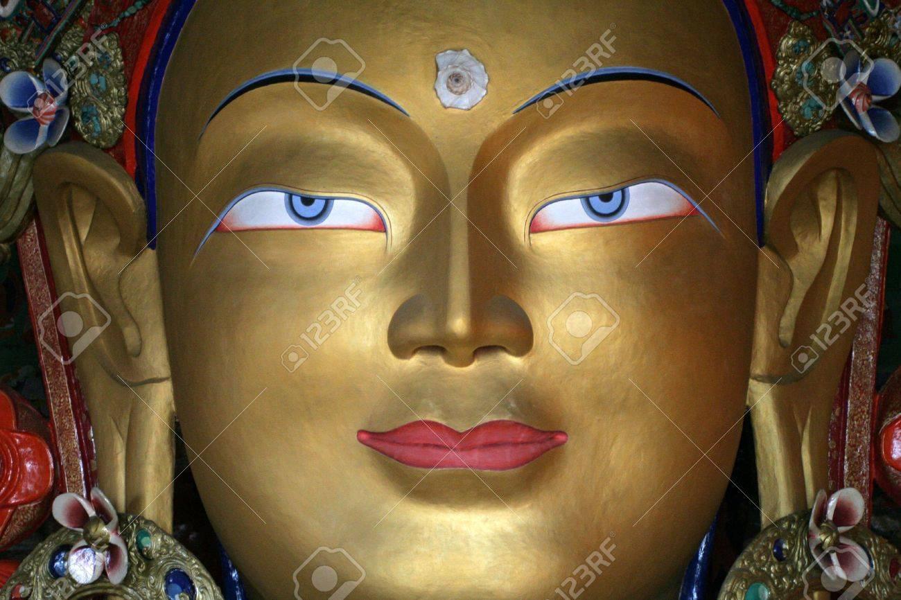 Indian Buddha Statue Buddha Statue Ladakh India