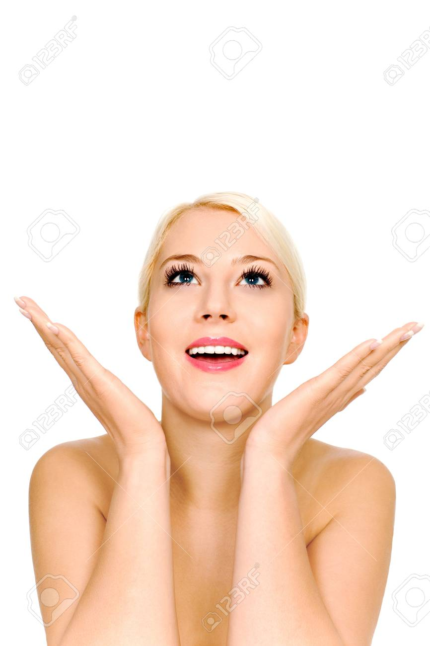 Surprised woman Stock Photo - 4164404