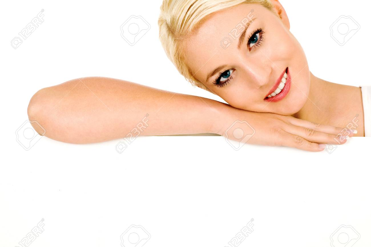 Beautiful young woman Stock Photo - 4164386