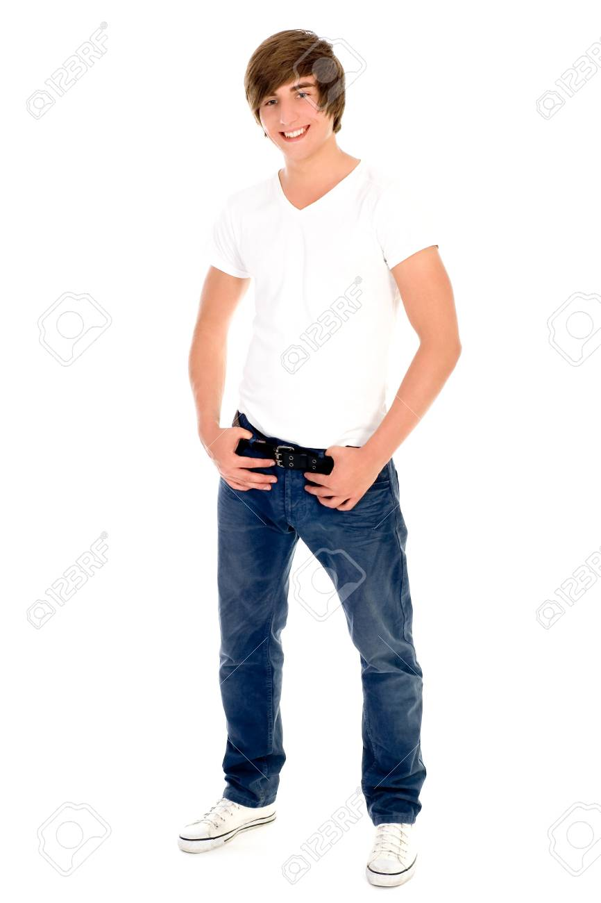 Casual cool young guy Stock Photo - 5179135