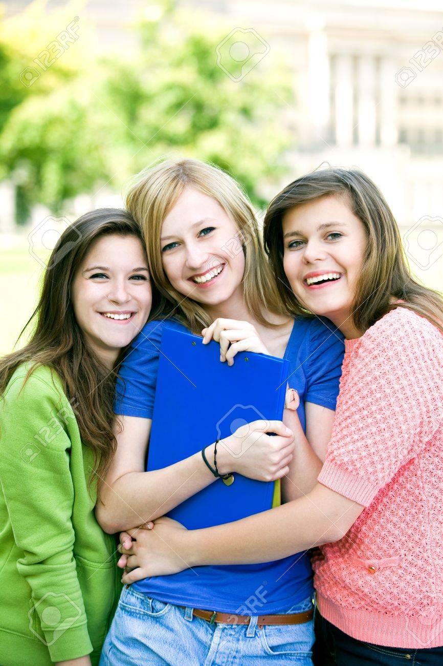 Female students Stock Photo - 10385694