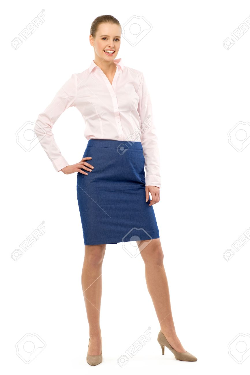 attractive woman standing stock photo picture and royalty free