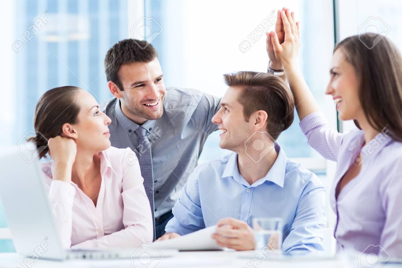 Successful business team Stock Photo - 20174770
