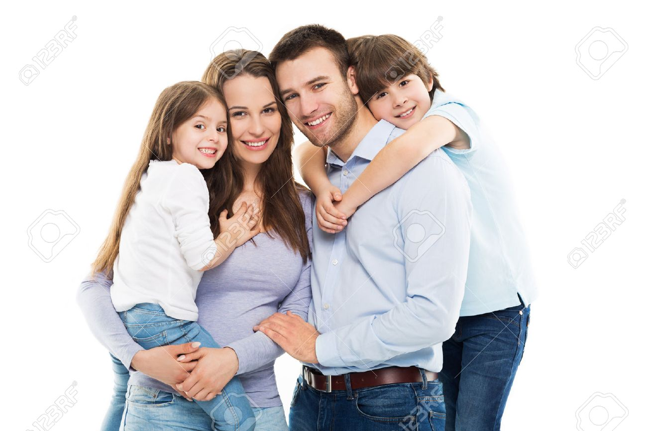 Young Family Bonding Stock Photo - 39581390