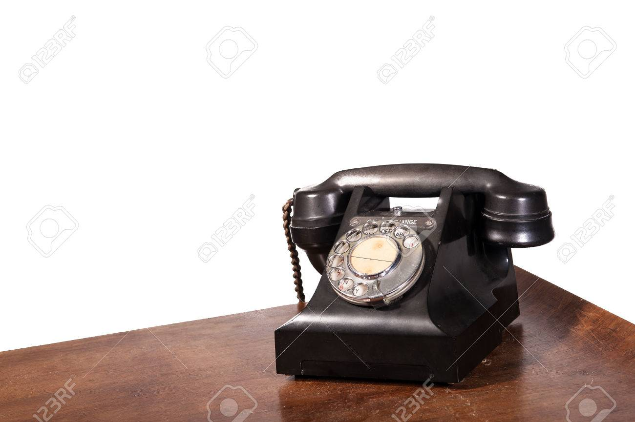 Vintage UK General Post Office 332 Director Telephone (Handset Micro Telephone) circa 1946 Stock Photo - 23789022