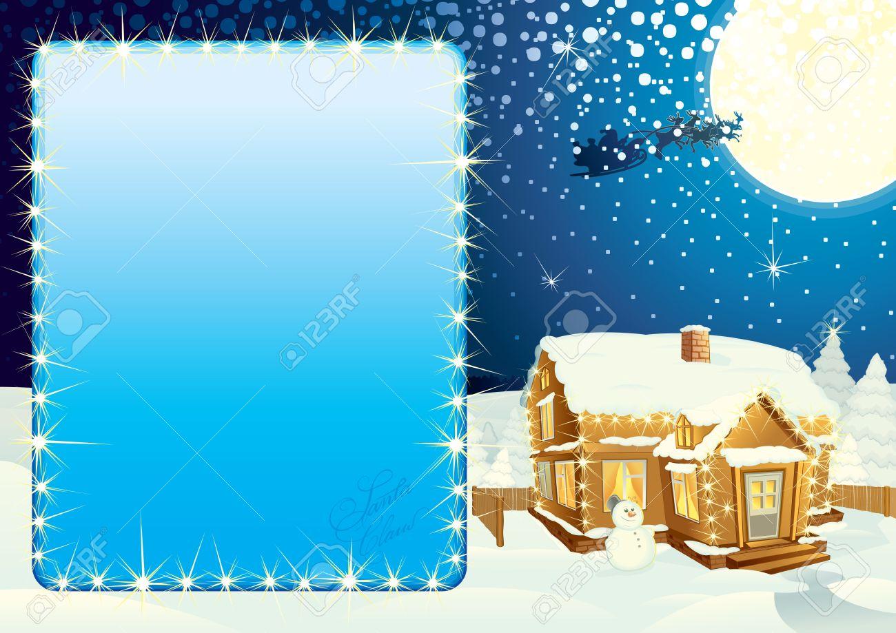 Illustrierte Weihnachten Poster - Gehören Klassische Weihnachten ...