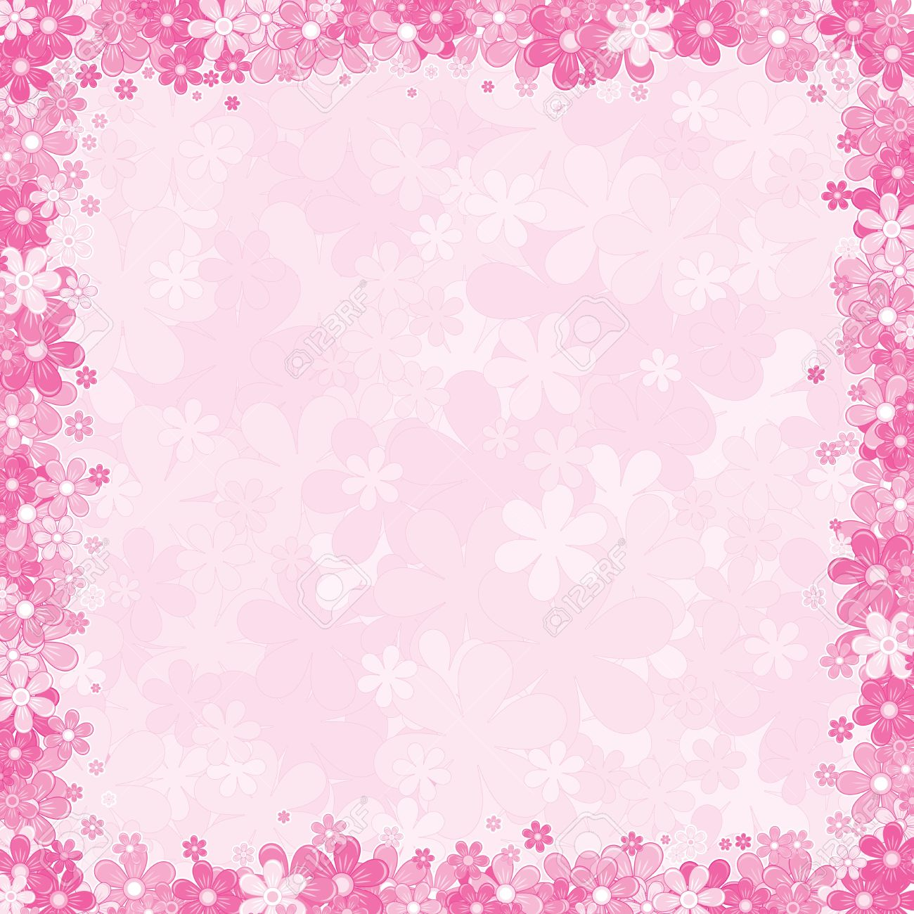 Pink flower background designs amazing wallpapers soft pink fl background vector template for your text or image source from this mightylinksfo
