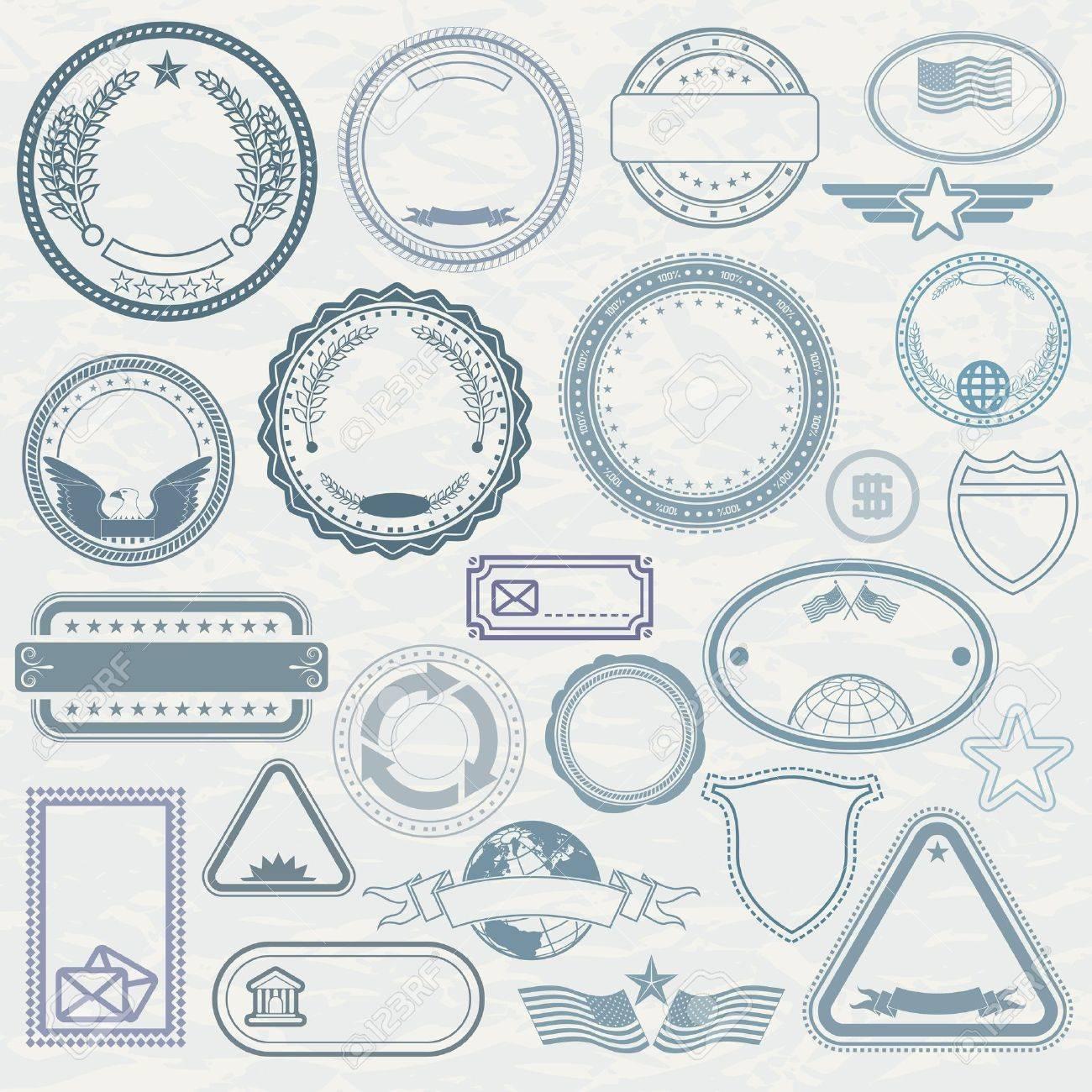 Stempel Vorlagen Von Stempel Selbst Gestalten Muster Stempel