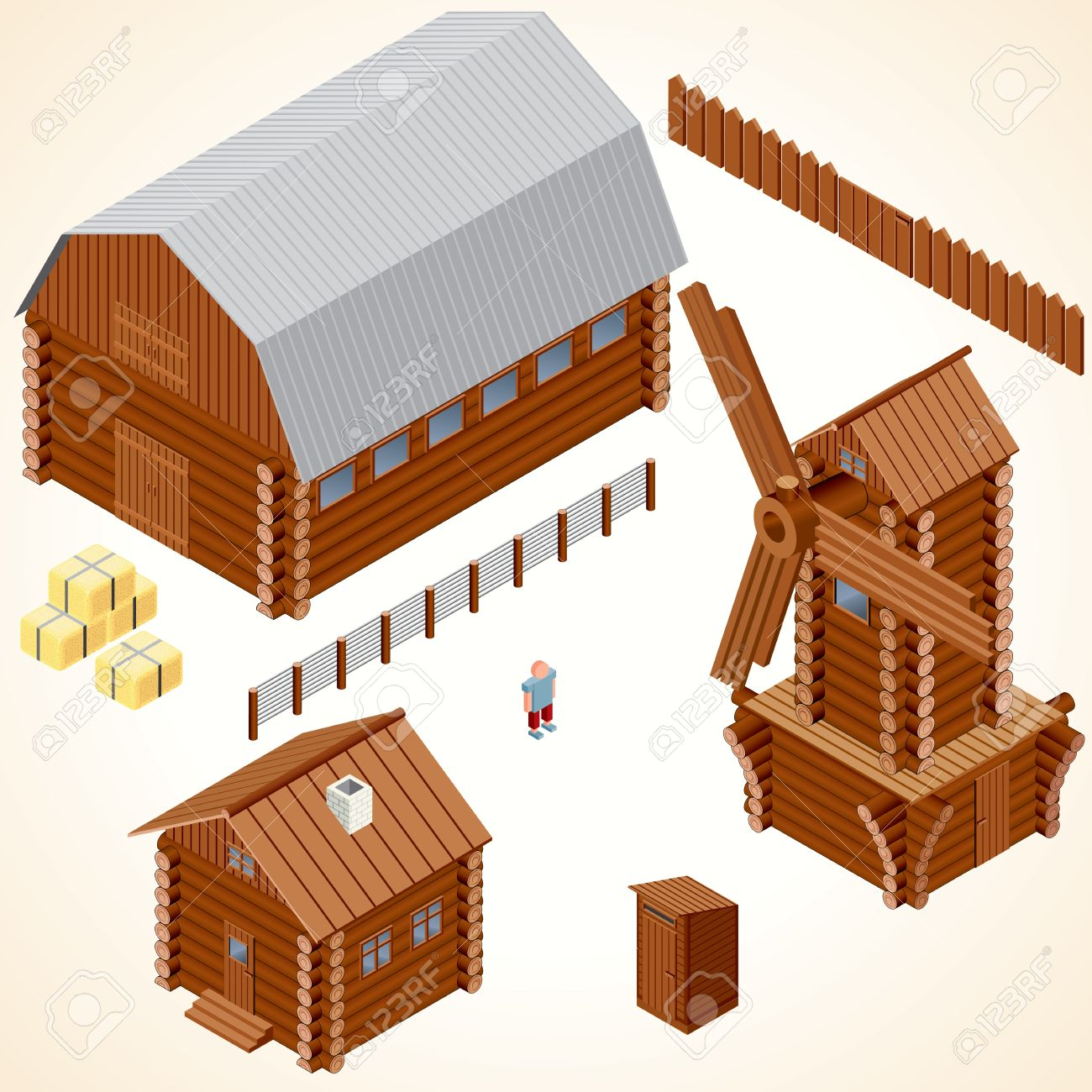 216 Outhouse Stock Vector Illustration And Royalty Free Outhouse ...