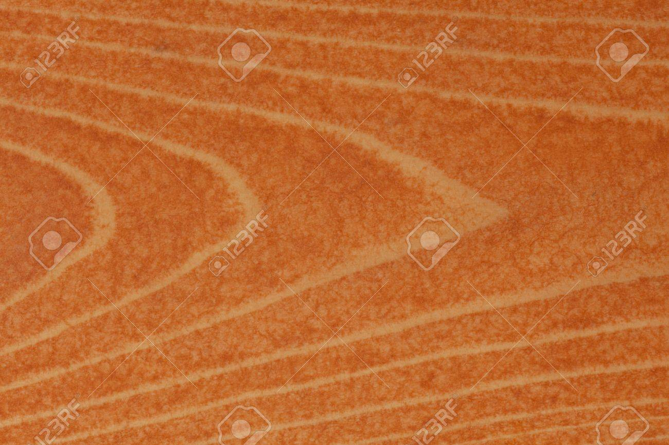 Pine or spruce (softwood) deck board stained with cedar colored transparent deck stain. Stock Photo - 6775540