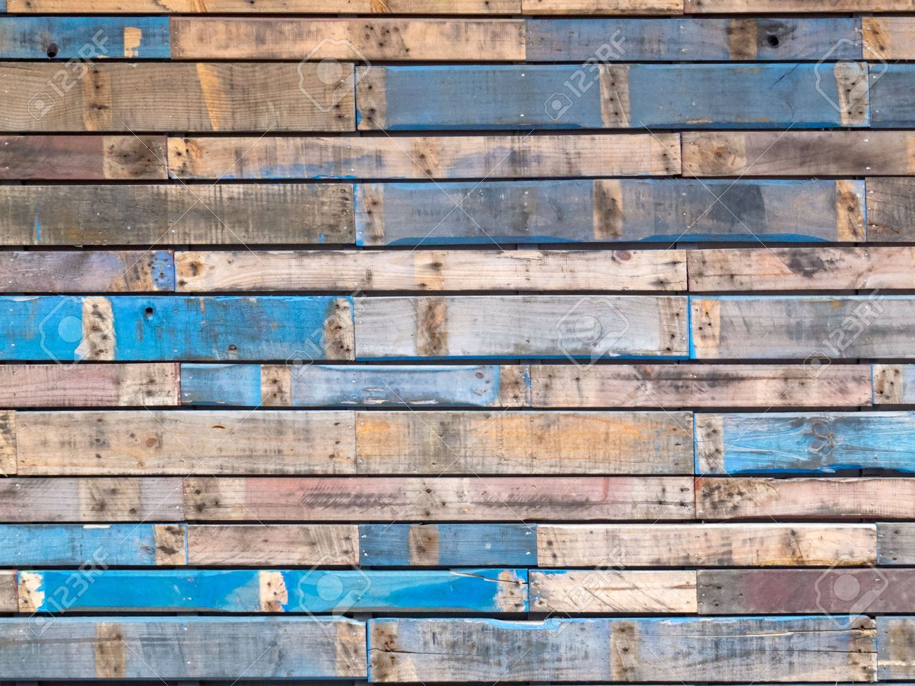 Background Texture Pattern Of Weathered Wooden Planks With Grungy