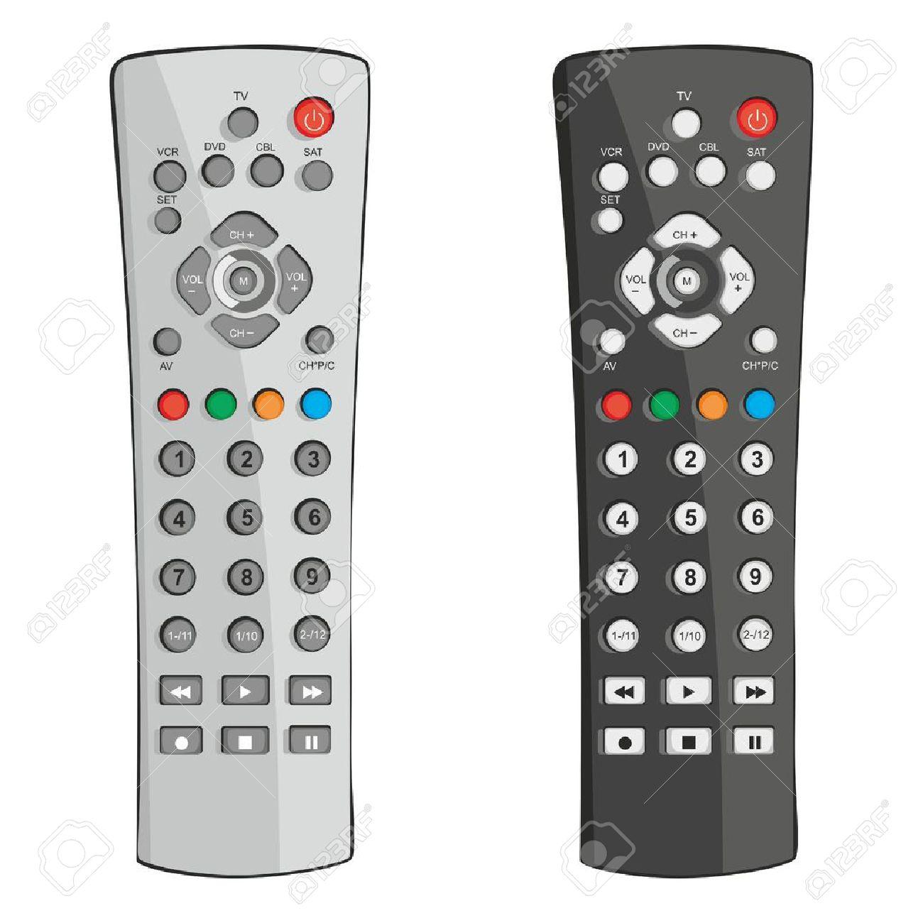 fully editable illustration remote control - 8842032