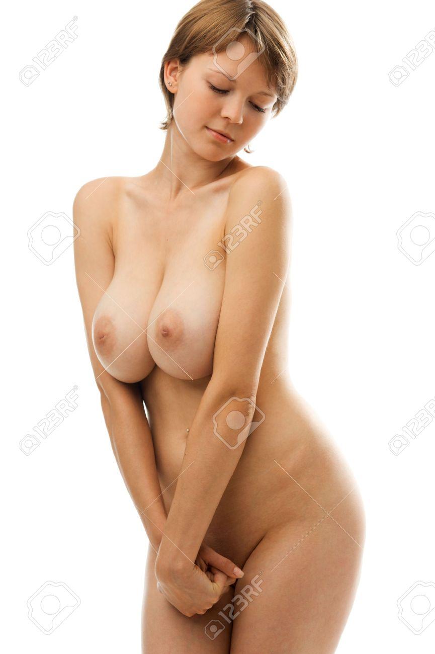 Beautiful naked big titties woman