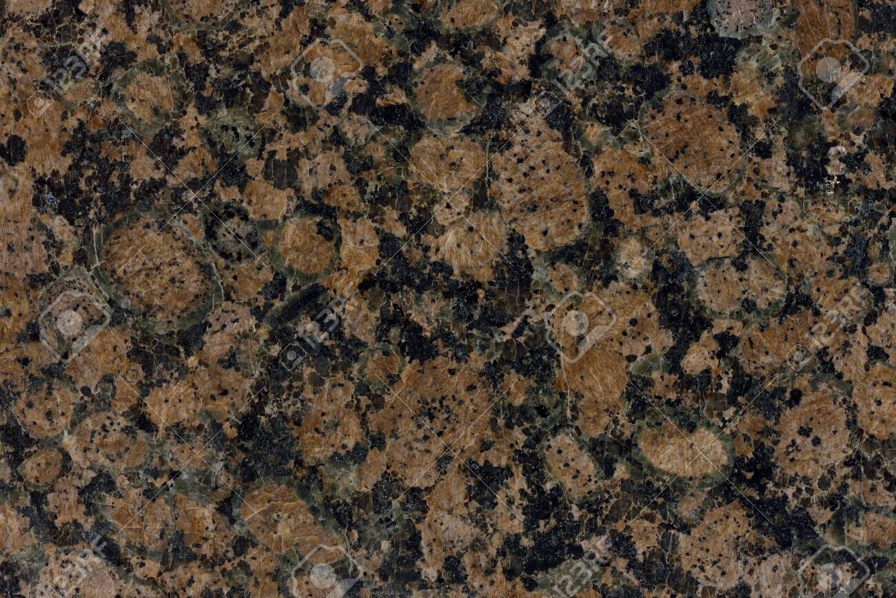 Real Natural Pattern Of Granite Brown Color Polished Slice Mineral Stock Photo Picture And Royalty Free Image Image 123837976