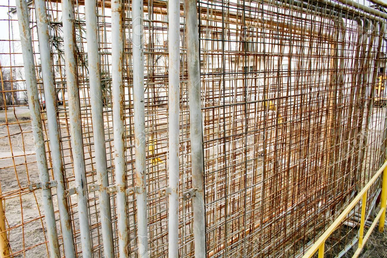 Rostige Metall Zaun Lizenzfreie Fotos Bilder Und Stock Fotografie