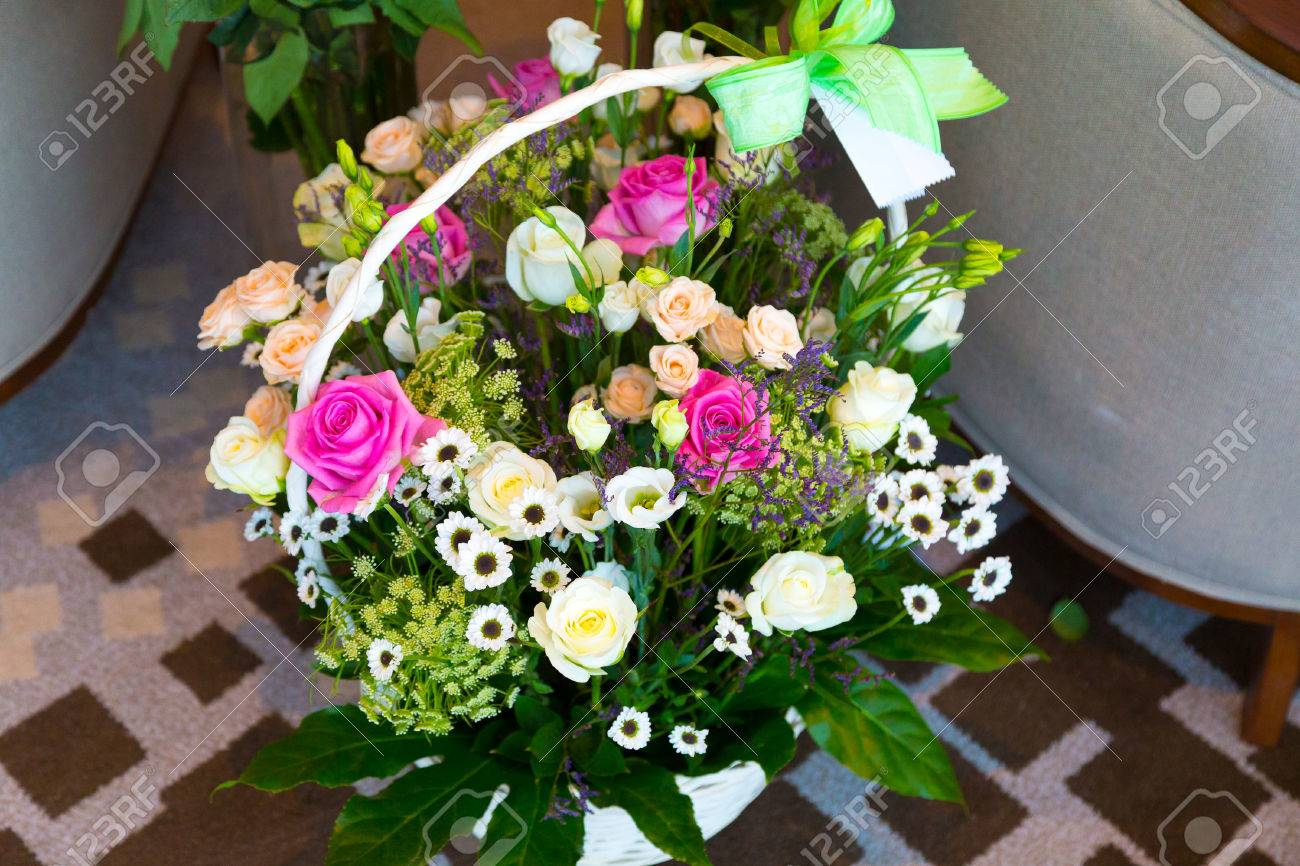 Bouquet of simple flowers on the floor stock photo picture and bouquet of simple flowers on the floor stock photo 35956041 izmirmasajfo
