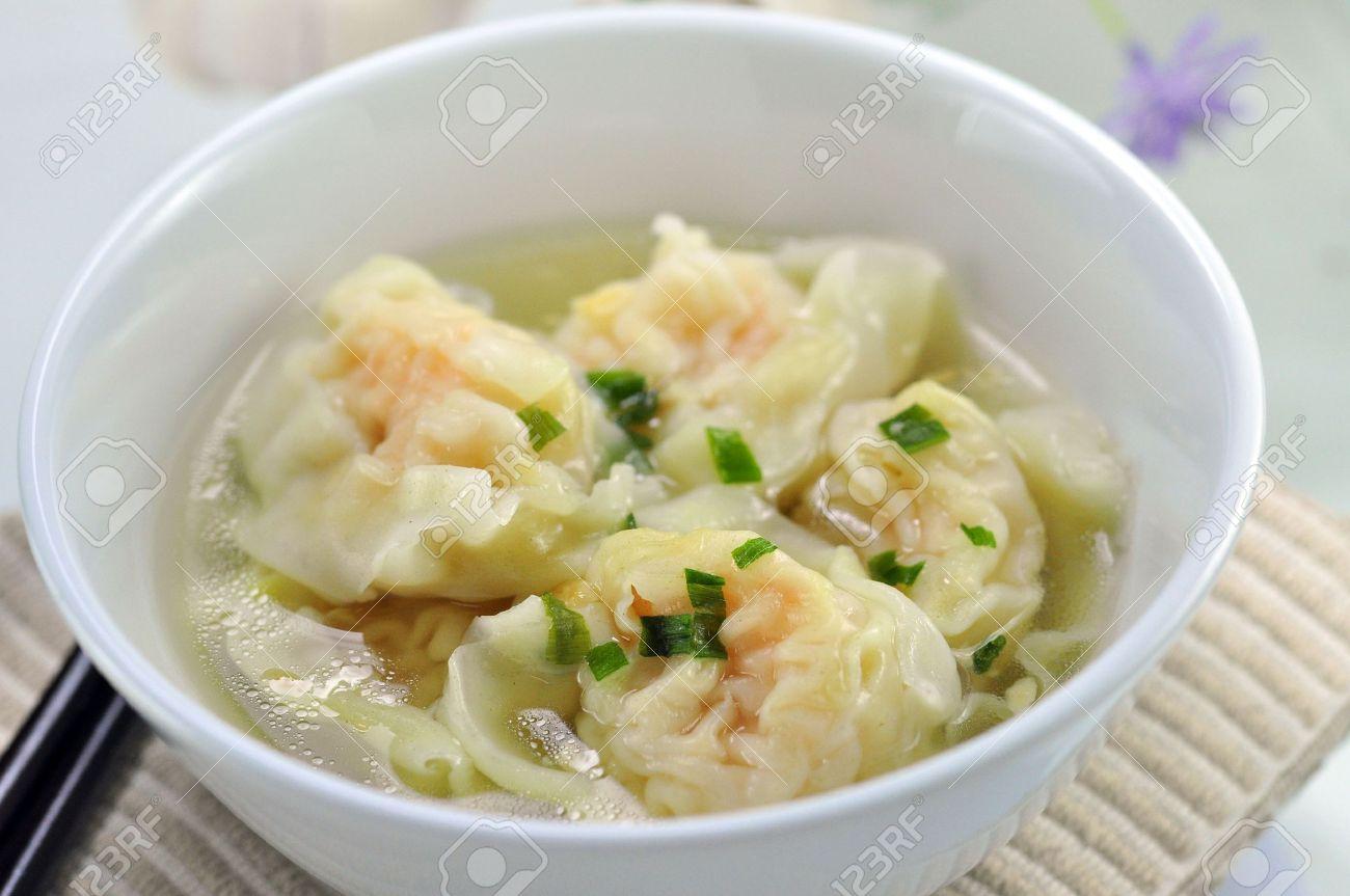 Shrimp Wonton Soup - 21451219