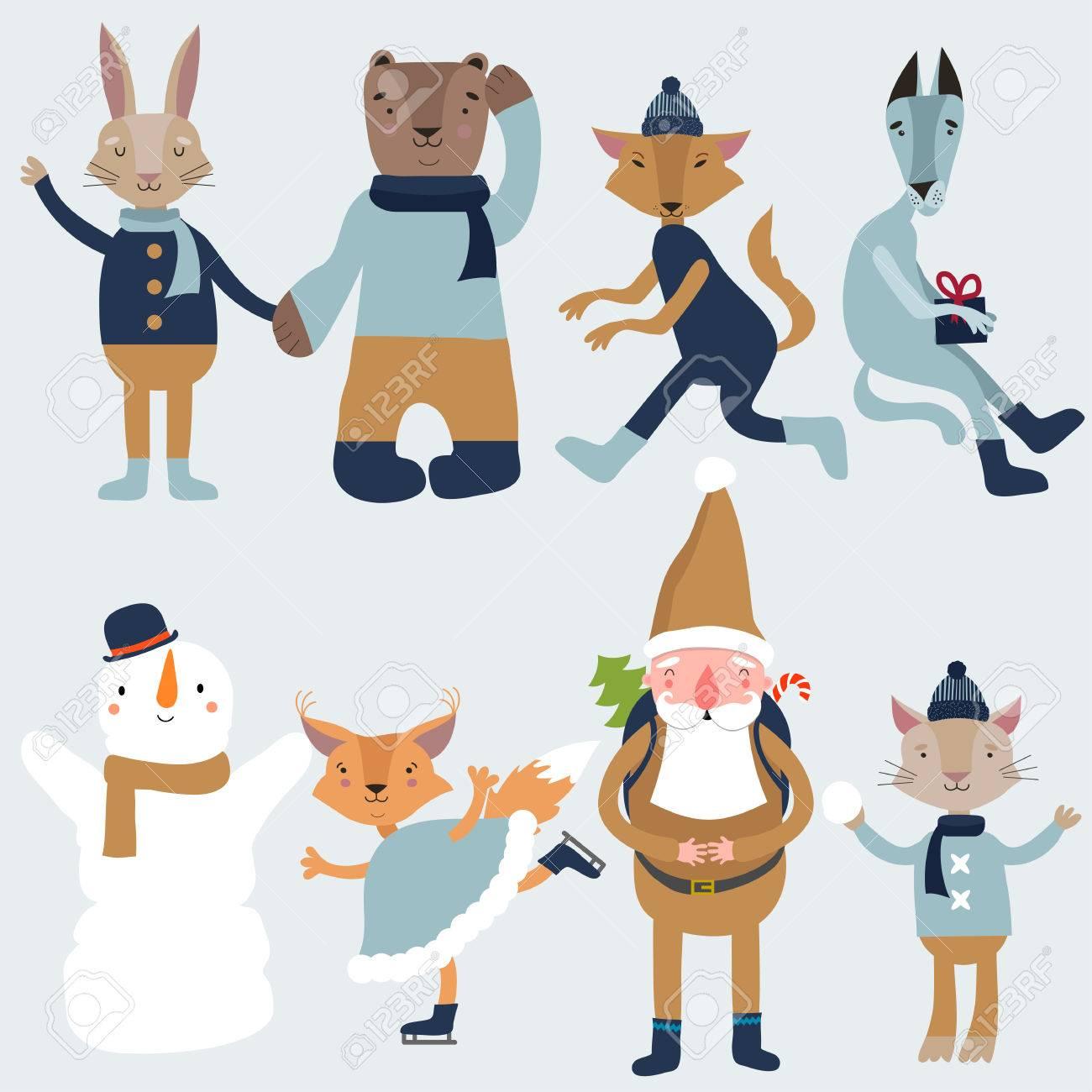 クリスマス キャラクター イラスト かわいい