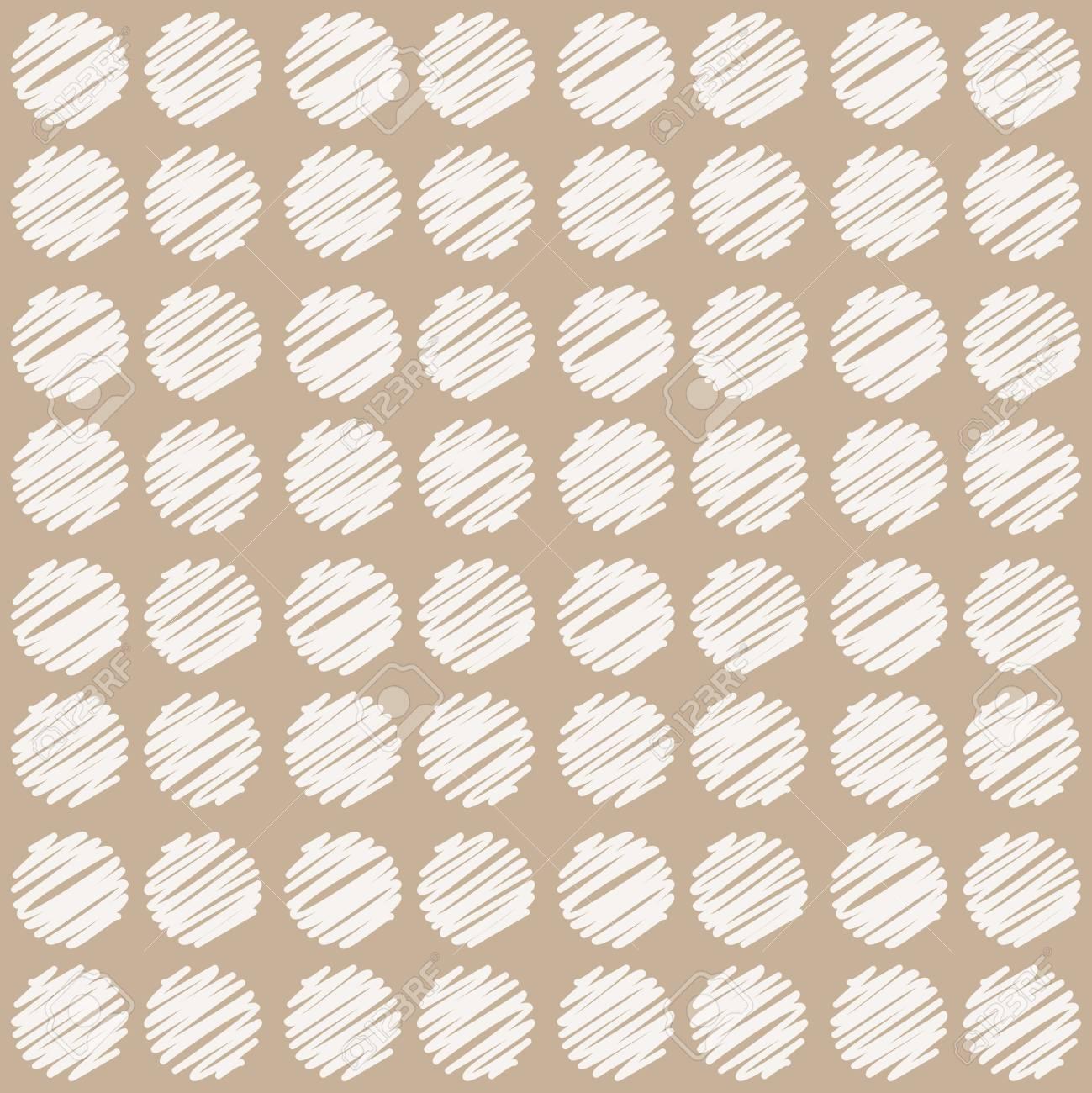Patrón Sin Costuras, Estilo Vintage. Fondo Geométrico Abstracto Con ...