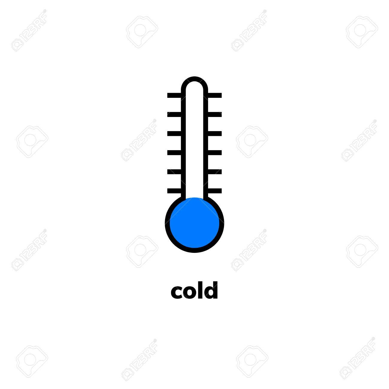 temperature icon vector clip art narrow range mercury thermometer rh 123rf com cold weather clipart black and white cold weather clipart images