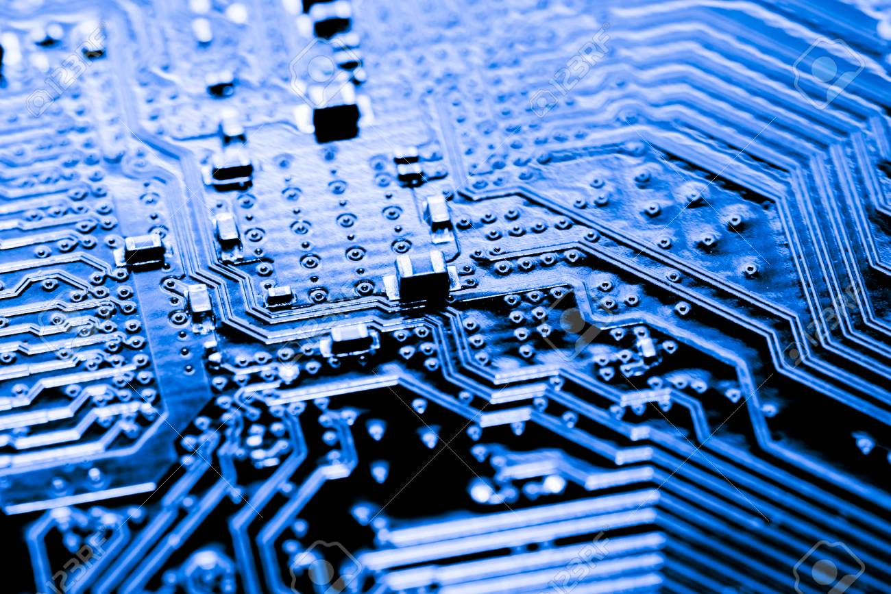Abstractclose Up Of Circuits Electronic On Mainboard Computer Circuit Main Board Royalty Free Stock Photography Image Technology Background Logic