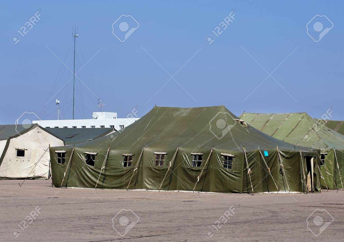 online store 09d69 efe84 Tents for placement of personnel on military range