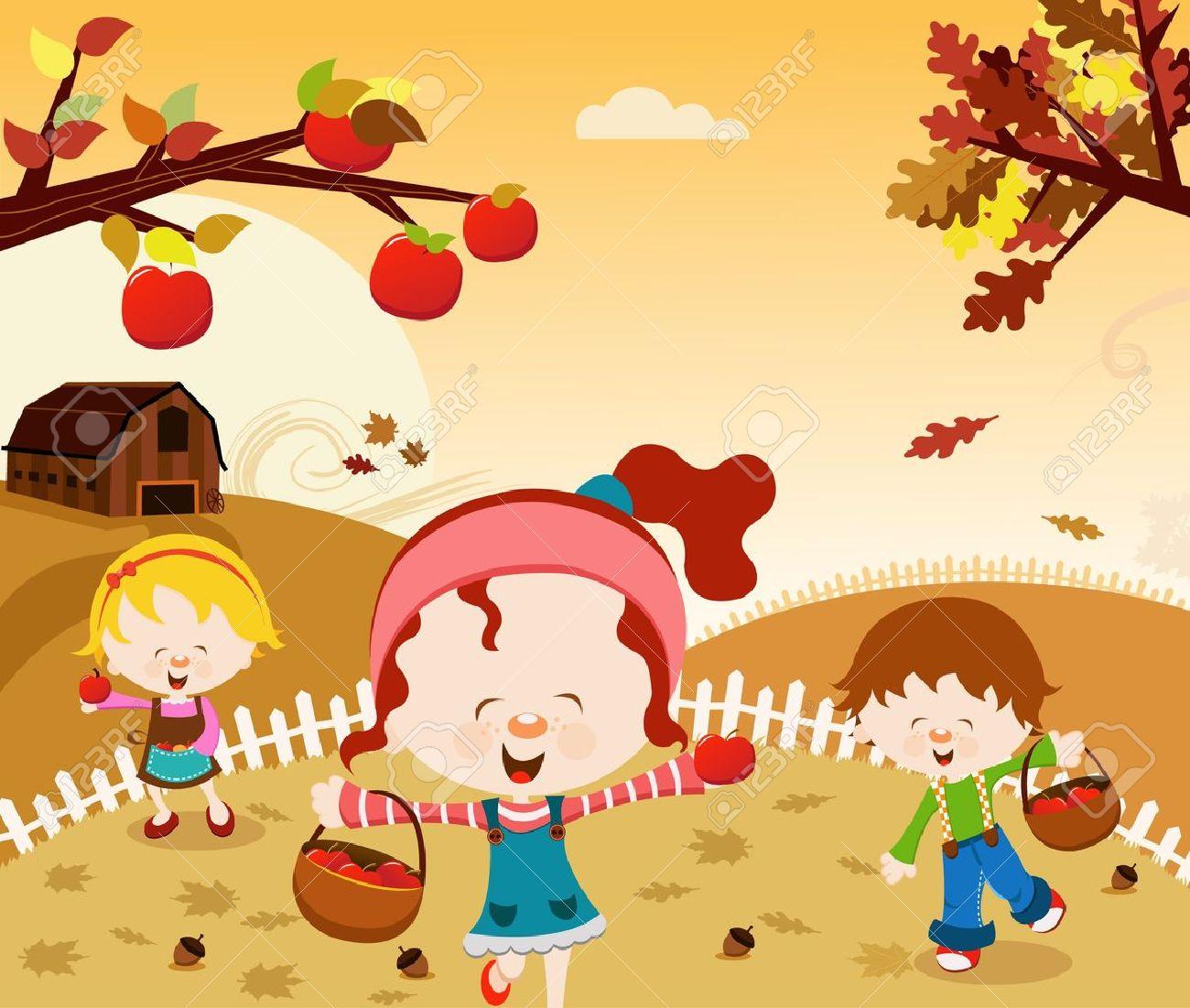 http://previews.123rf.com/images/pinipin/pinipin1109/pinipin110900001/10640288-Happy-Harvest-Stock-Vector-autumn-cartoon-apple.jpg