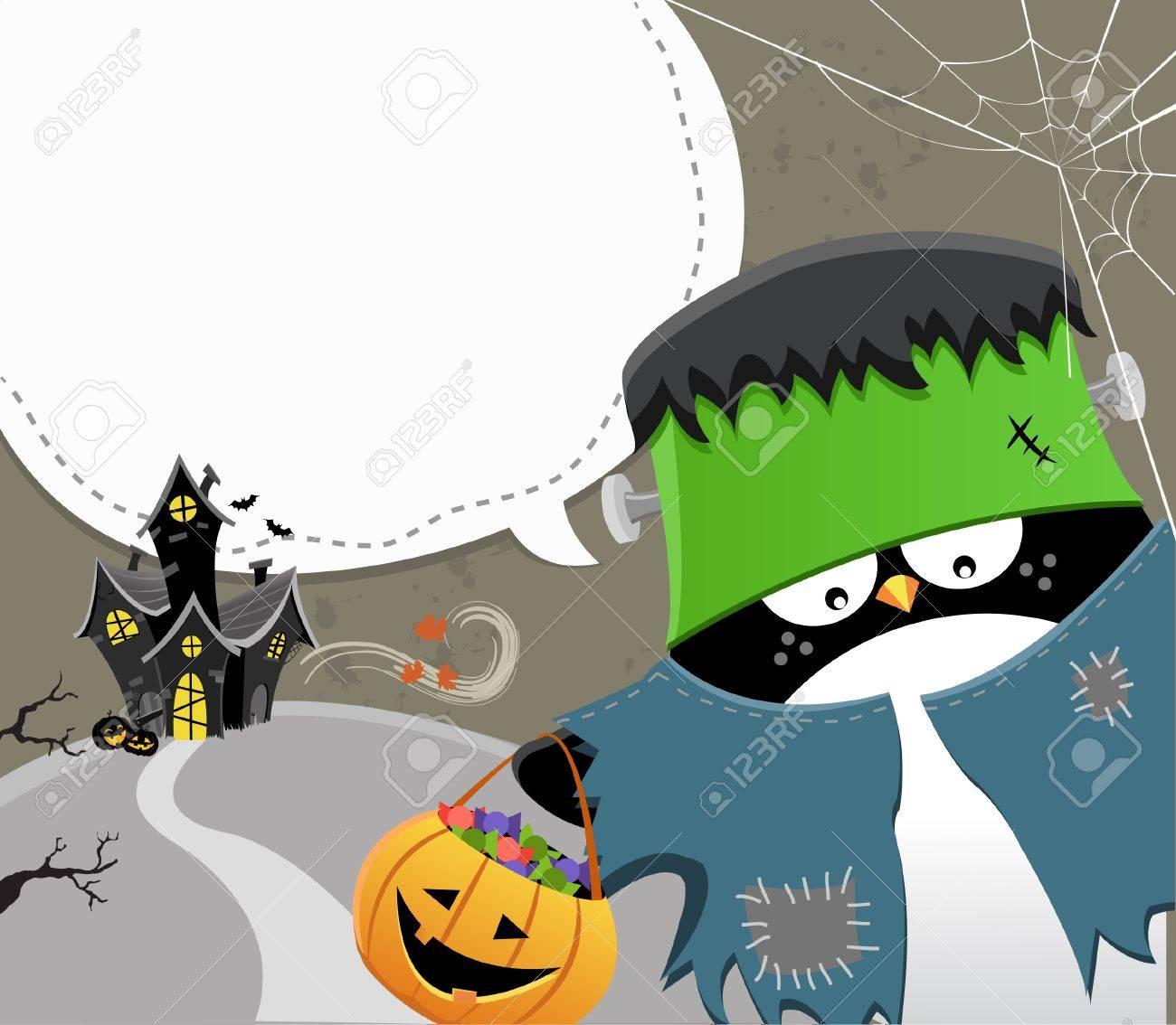 Halloween Frankenstein Stock Vector - 10833473