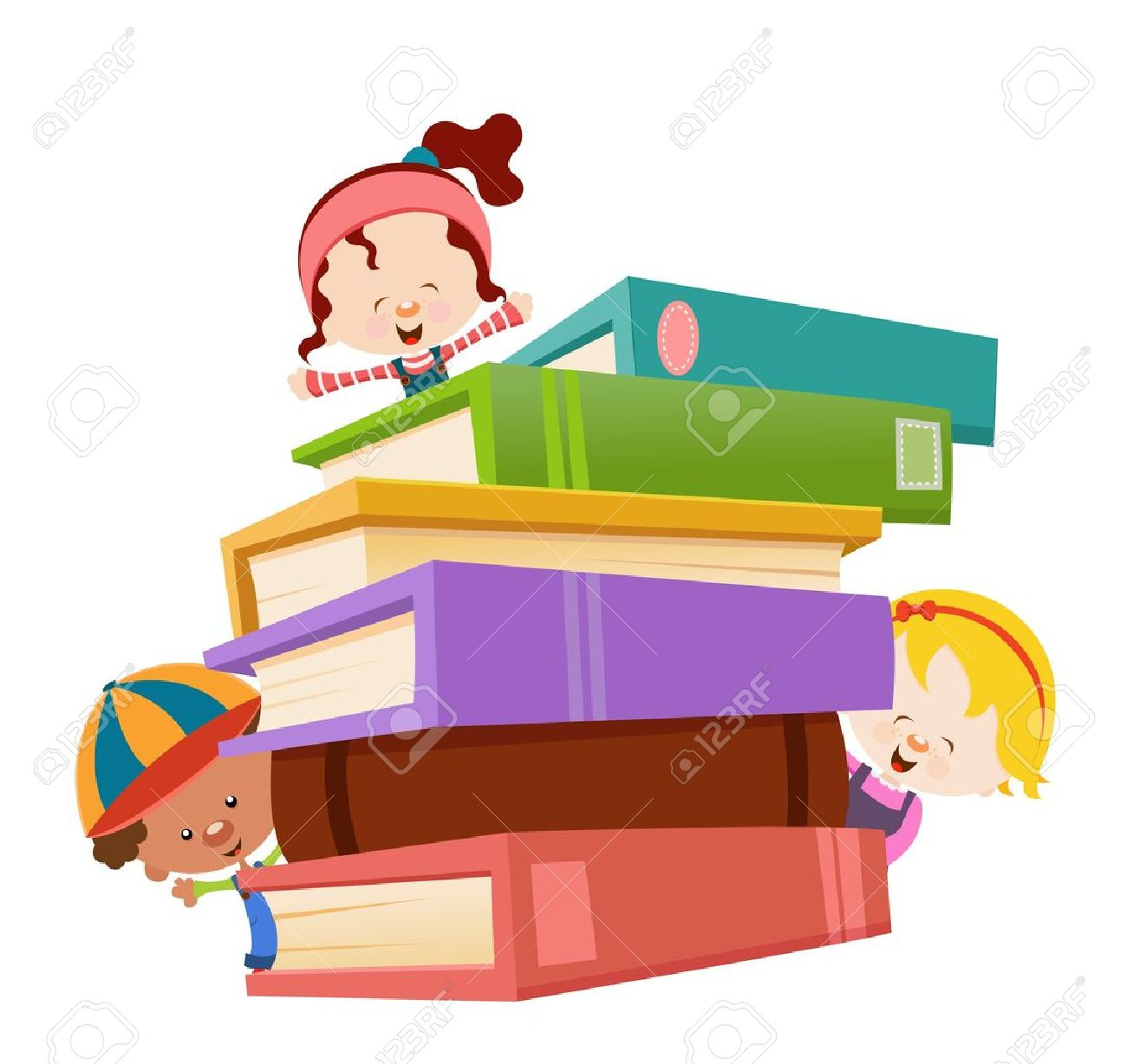18 121 kids reading stock vector illustration and royalty free