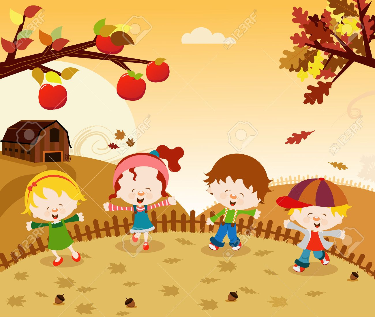 Image result for cartoon autumn